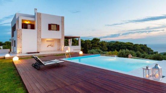 Private villa with pool
