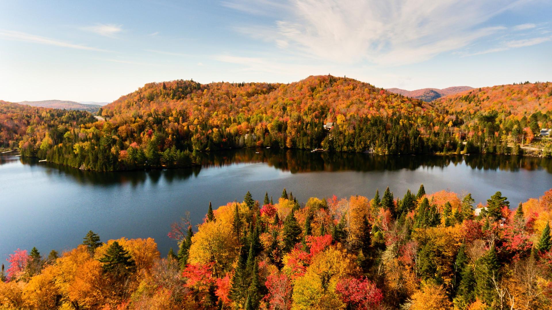 Québec  in autumn